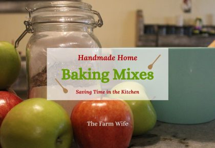 handmade baking mixes