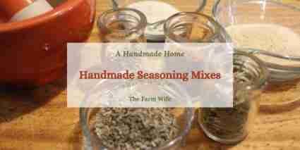 handmade seasoning mixes