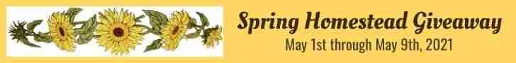 Spring Homestead Giveaway