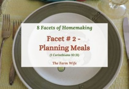 5 tips for planning meals