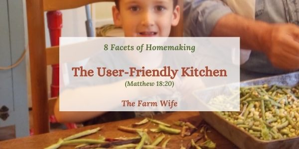 have a user-friendly kitchen
