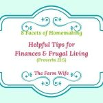 finances and frugal living