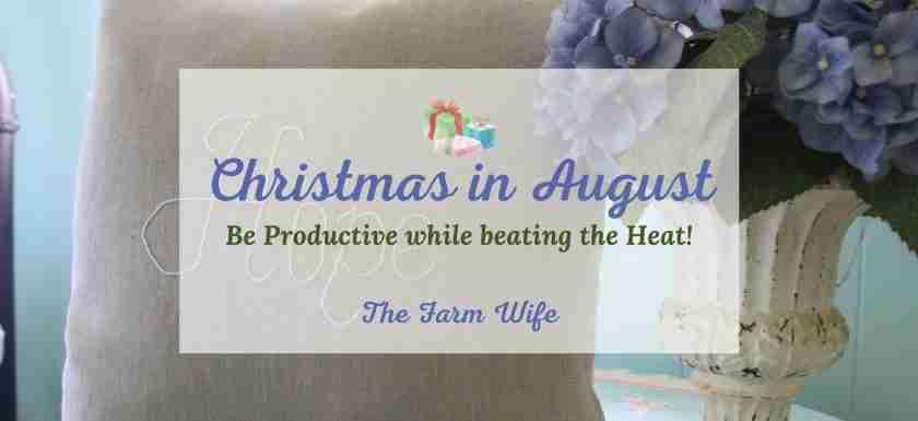 plan ahead for Christmas