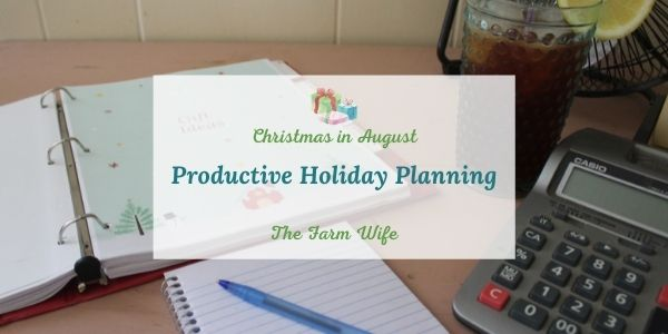 productive holiday planning