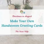 handwoven greeting cards