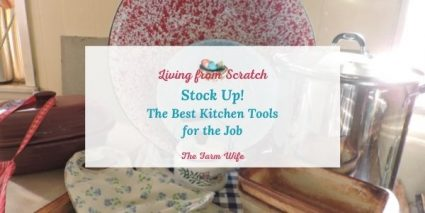 best kitchen tools for the job