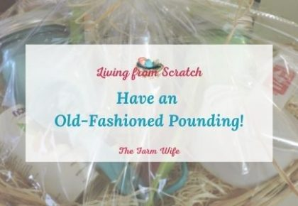 old-fashioned pounding