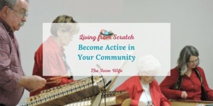 active in your community